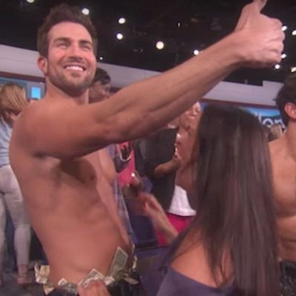 The Bachelorette's Group Date on Ellen Saw the Guys Stripping Down for Their Best Magic Mike Moves