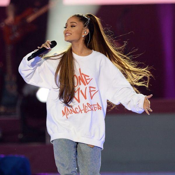 Ariana Grande's Gorgeous Diamond Ring Sparks Engagement Buzz