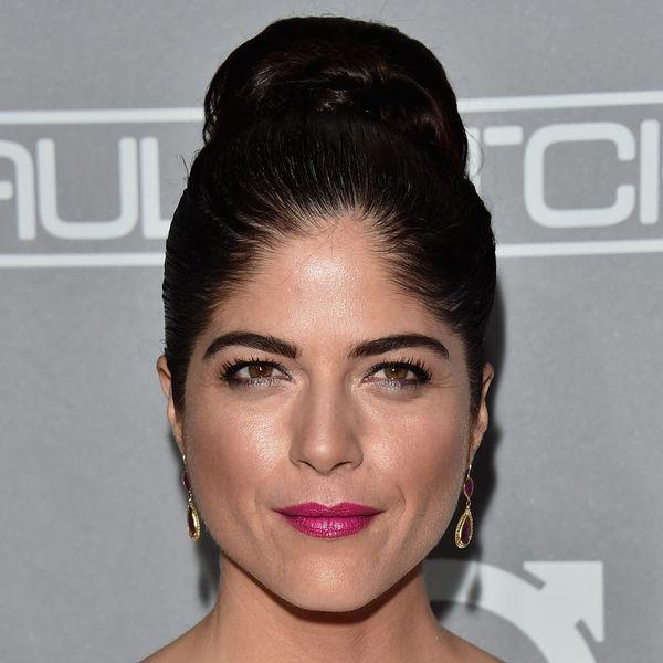 Selma Blair Gives the Middle Finger to Gray-Hair Shaming