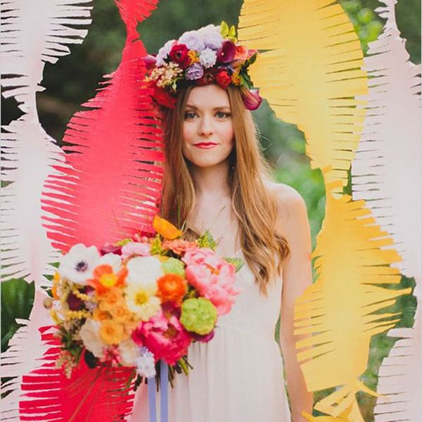 10 Wedding Decorations That Prove Fringe Is Everything