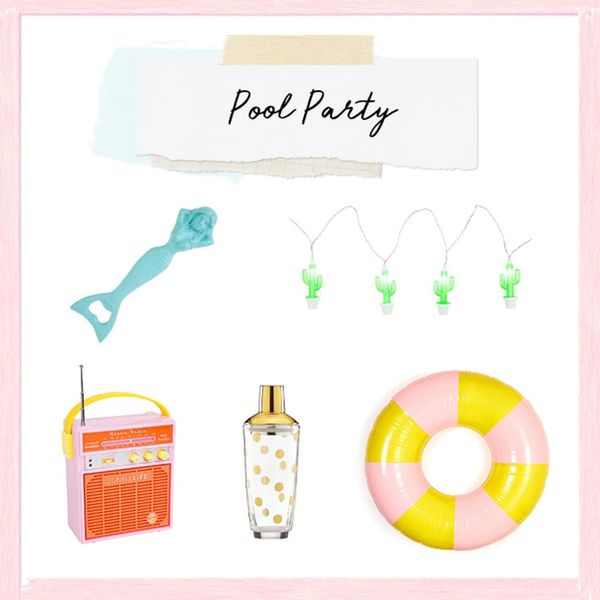 3 Ways to Decorate Your First Summer Pool Party