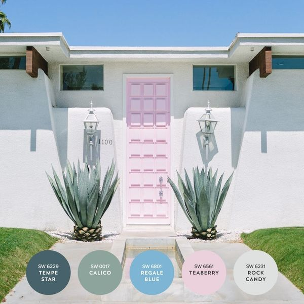 The Color Lover's Travel Guide to Palm Springs + Joshua Tree