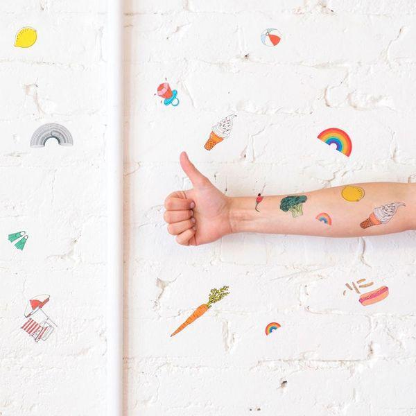 Temporary Tattoo Wallpaper Is the Millennial Renter's Dream
