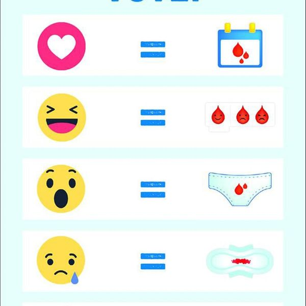 A Period Emoji May Be Making Its Way to Phones Near You