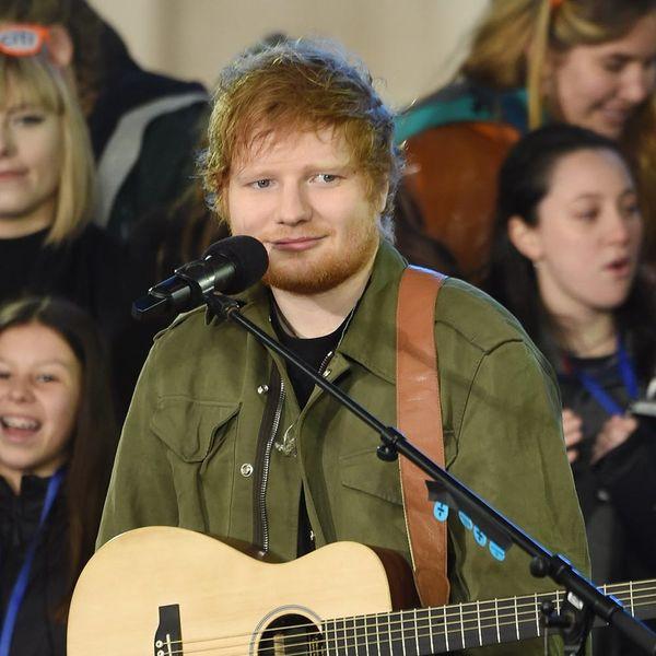 Ed Sheeran Just Addressed Those Engagement Rumors