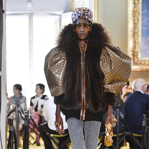 Did Gucci's 2018 Resort Collection Knock-Off This Famous Tailor's Design?