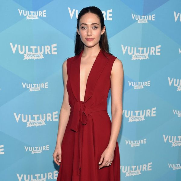 Swoon Over Emmy Rossum's Gorgeous Wedding Dress