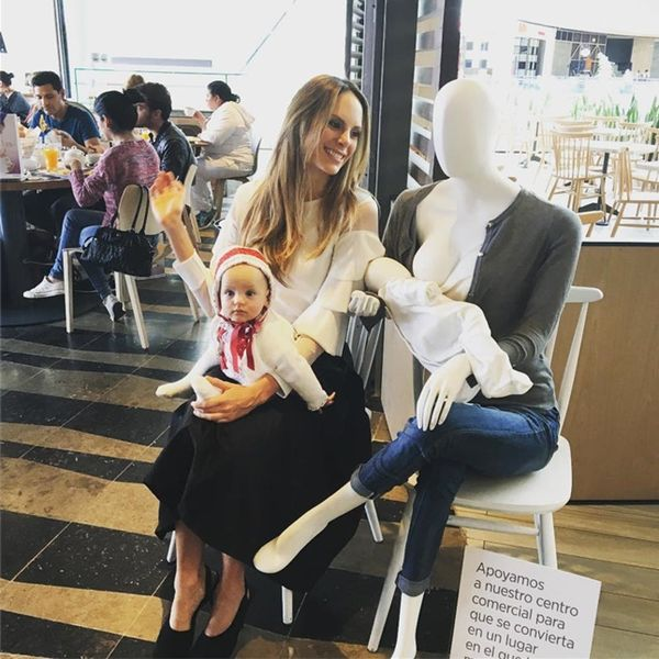 Breastfeeding Mannequins Are Now a Thing in International Malls