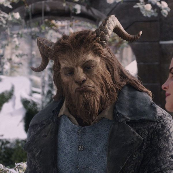 You'll Freak Out When You See Dan Stevens' Weird AF Beauty and the Beast Getup