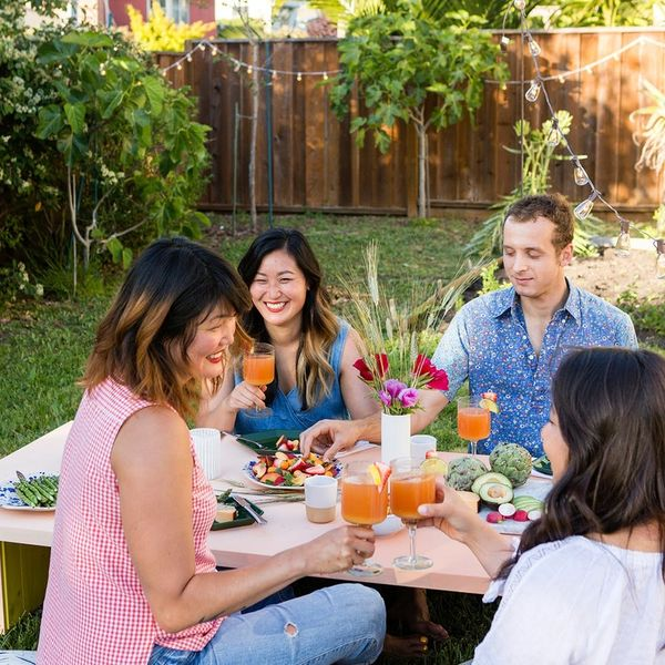 Throw the Ultimate Backyard Dinner With These Three Simple IKEA Hacks