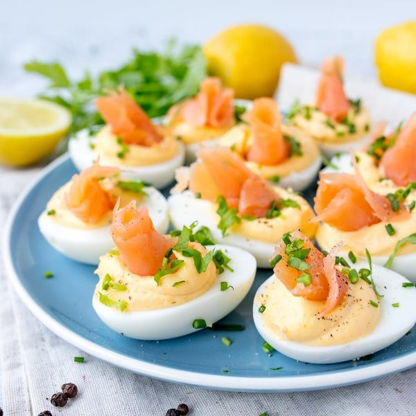 Try Our Low-CarbSmoked Salmon Deviled Eggs Recipe!