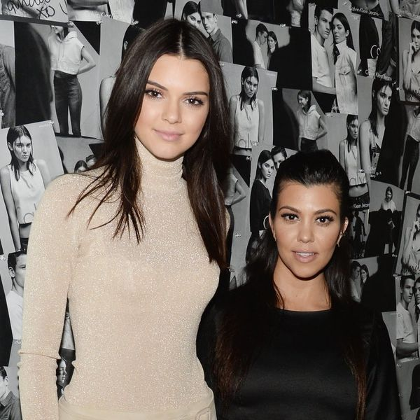 Kourtney Kardashian and Kendall Jenner Partied on a Yacht in Matching PJs