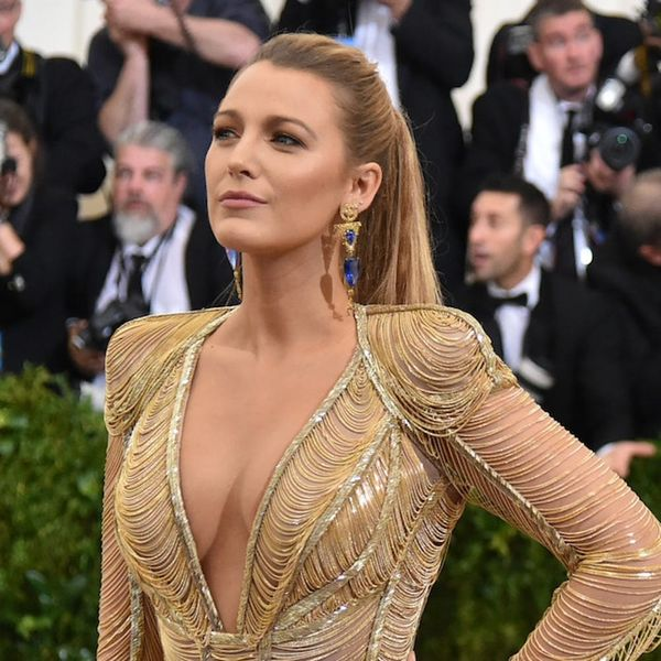 Blake Lively Just Pulled Off This Super Difficult Color on the Red Carpet