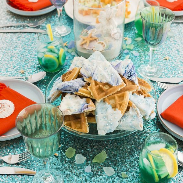Go Under the Sea With This Little Mermaid-Inspired Boozy Brunch