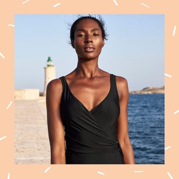 This Brand Perfected One-Piece Swimsuits for Tall Women