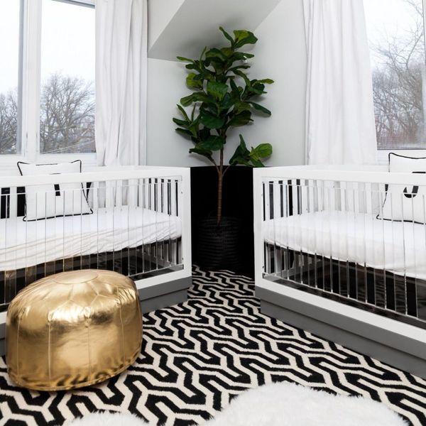 11 Twin Nursery Ideas Worthy of Queen Bey's Babes