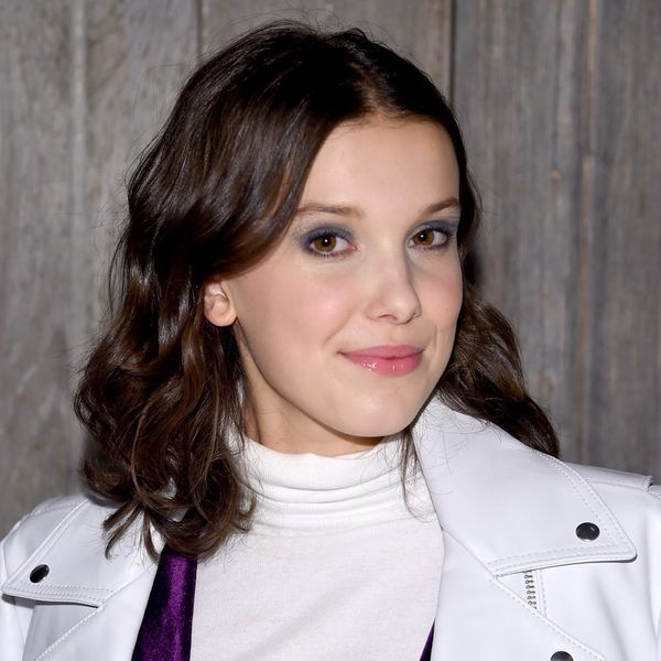 Millie Bobby Brown Rocked a Cheerleader-Inspired Look at the Calvin Klein Fashion Show