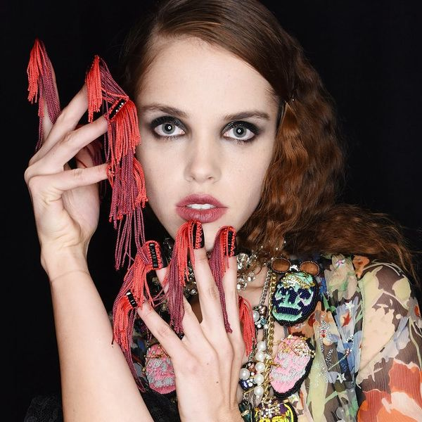Libertine Just Debuted the Craziest Fringe Nails at New York Fashion Week