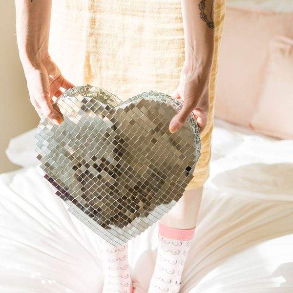 Get Your Groove on With This Heart-Shaped Disco Ball