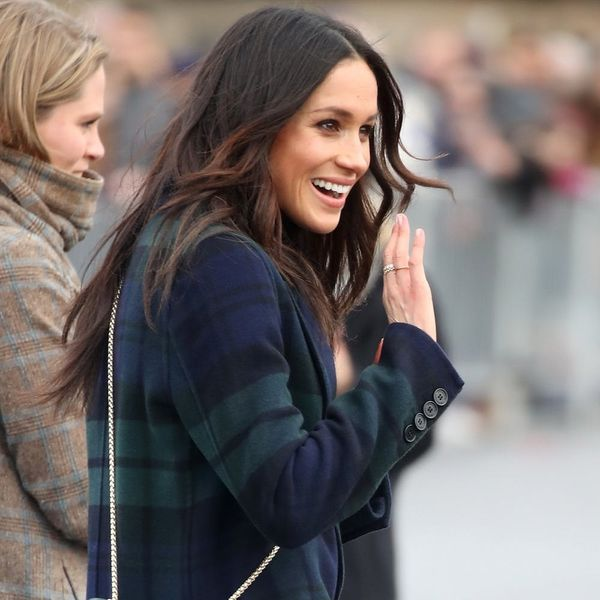 Meghan Markle Is Mad for Plaid in This Probably Already Sold Out Trench Coat