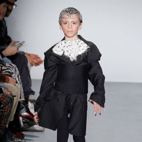 This 10-Year-Old Boy Just Stole the Show at Fashion Week