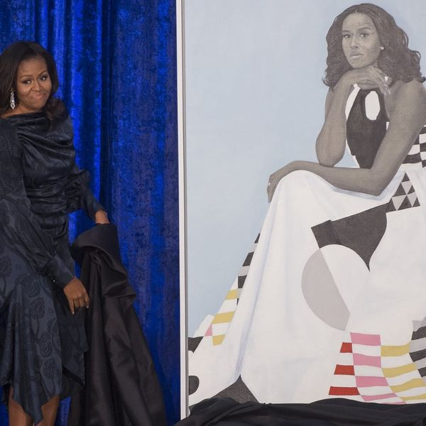 Here's Everything You Need to Know About Michelle Obama's Official Portrait Dress