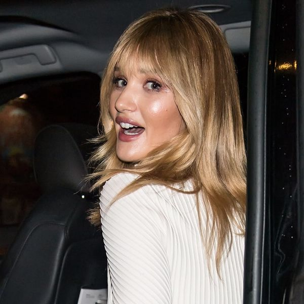 Rosie Huntington-Whiteley Looks SO Different With Bangs