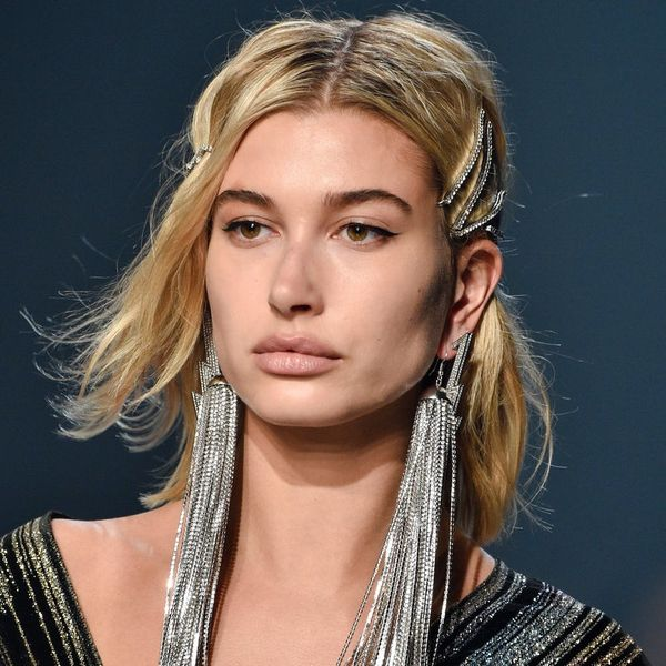 Hailey Baldwin Had the Longest Earrings Ever for the Zadig & Voltaire NYFW Show