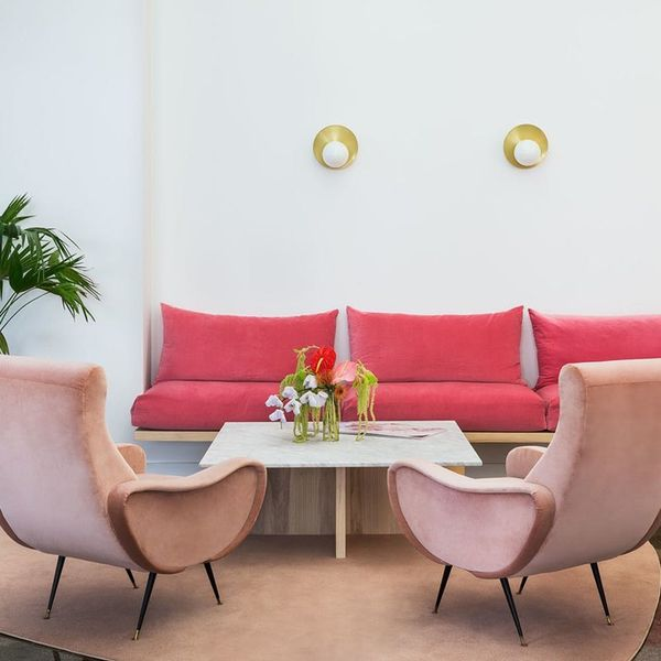 This Millennial Pink Office Is Totally Swoon-Worthy