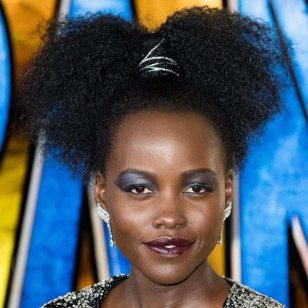 Here's the Exact Shadow Palette Lupita Nyong'o Slayed Last Night's 'Black Panther' Premiere In