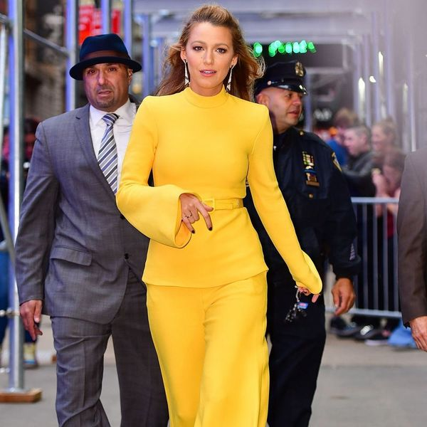 8 Ways You Can Get in on the Colorful Pant Trend Like Blake Lively