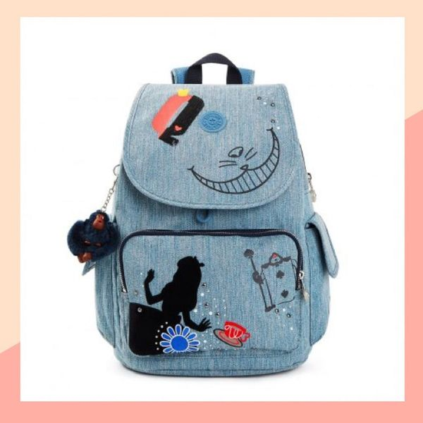 Kipling and Disney Have Teamed Up Again for an Epic 'Alice in Wonderland' Collab