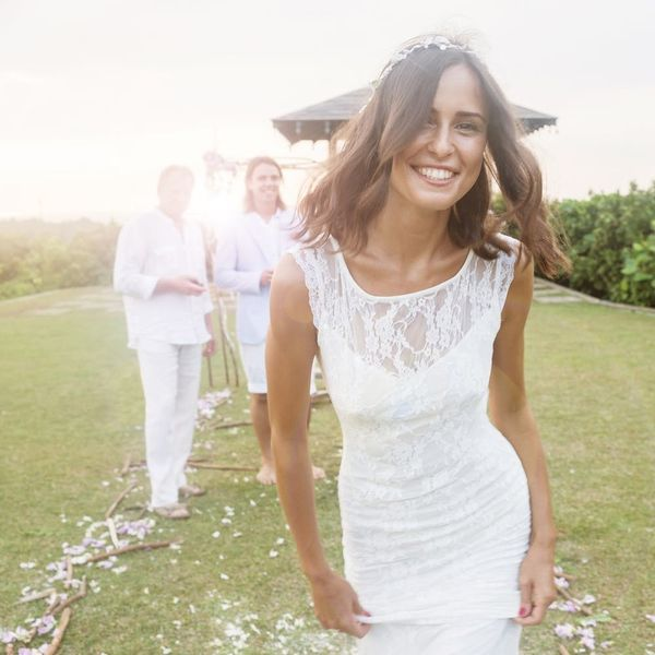 The Latest Spin on the Naked Wedding Dress Is Truly Wild