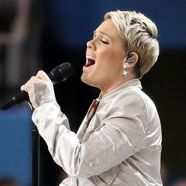 Pink Nailed Her Super Bowl Performance of the National Anthem, Even With the Flu