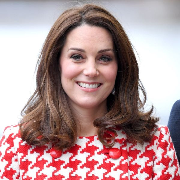 Kate Middleton Twinned With the Late Princess Diana in This Houndstooth Coat