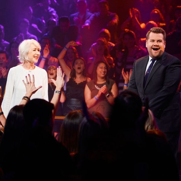 Watch Helen Mirren Destroy James Corden in a Vicious Rap Battle