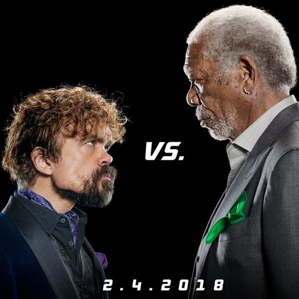 Morgan Freeman and Peter Dinklage Face Off in an Epic Lip-Sync Super Bowl Rap Battle