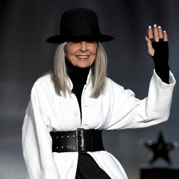Diane Keaton Continues to Defend Woody Allen and People Are Not Impressed