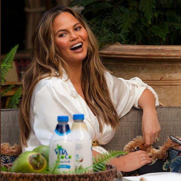 "Chrissy Teigen Tells Us 'Cravings 2' Will Have Less Ham and More ""Vegan-ish"" Recipes"