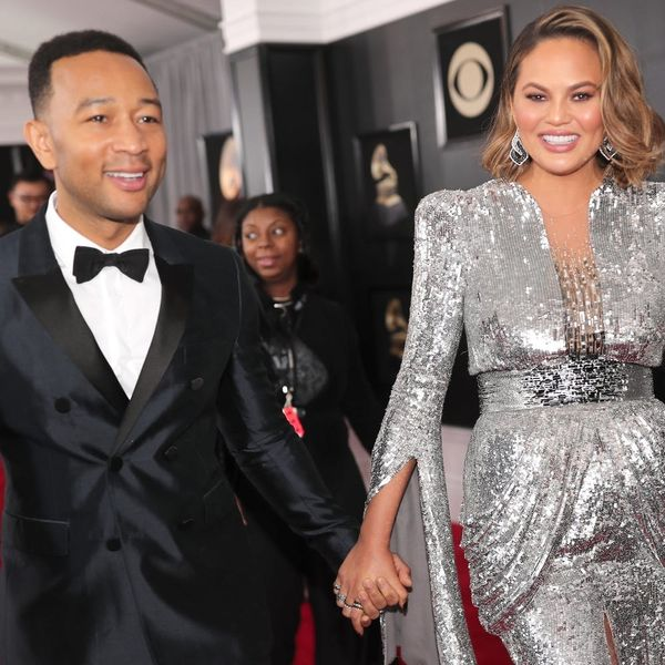 Chrissy Teigen Ends Her 2018 Grammys Night by Revealing That She's Expecting a Baby Boy!