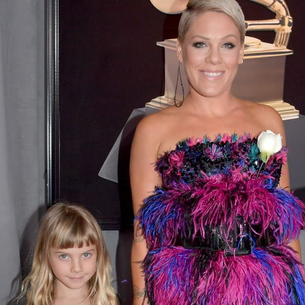 Pink and Daughter Willow Were Too Cute for Words in Their Complementary 2018 Grammys Gowns