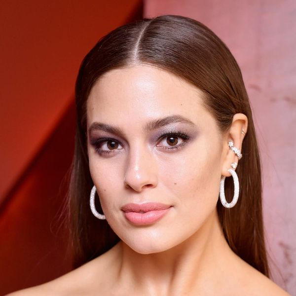 Ashley Graham Just Got the Most Daring Tattoo… on the Side of Her Neck!
