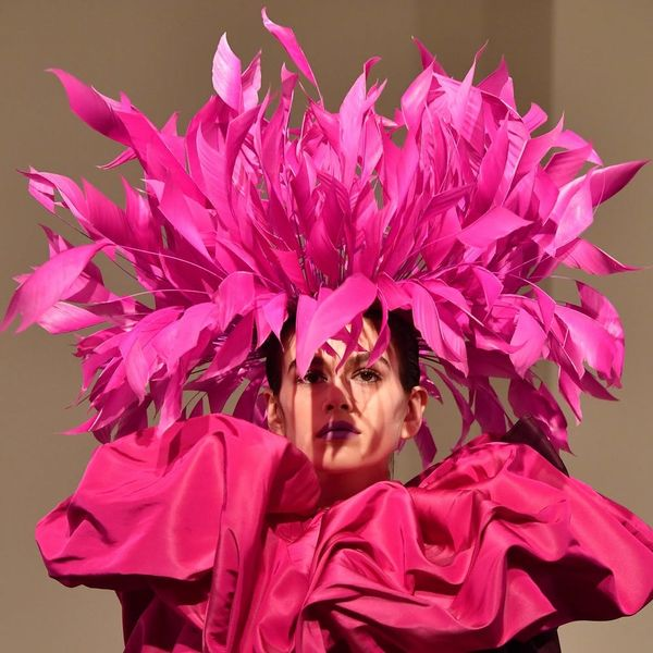 Valentino Just Debuted *the* Most Insane Dr. Seuss-Inspired Hats on the Runway