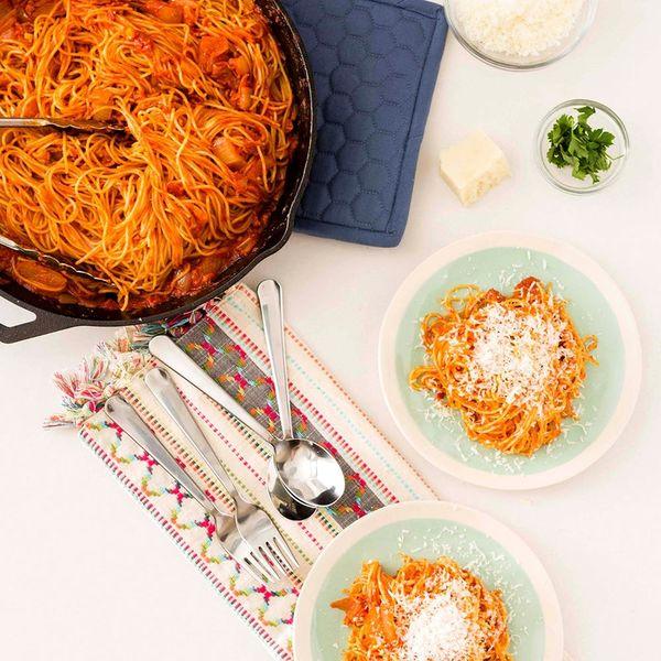 Make This Easy, Comforting Pancetta Pasta Recipe for Dinner Tonight!