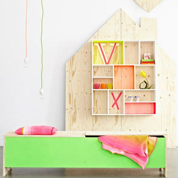 26 Cool and Colorful Ways to Organize Your Kids' Room