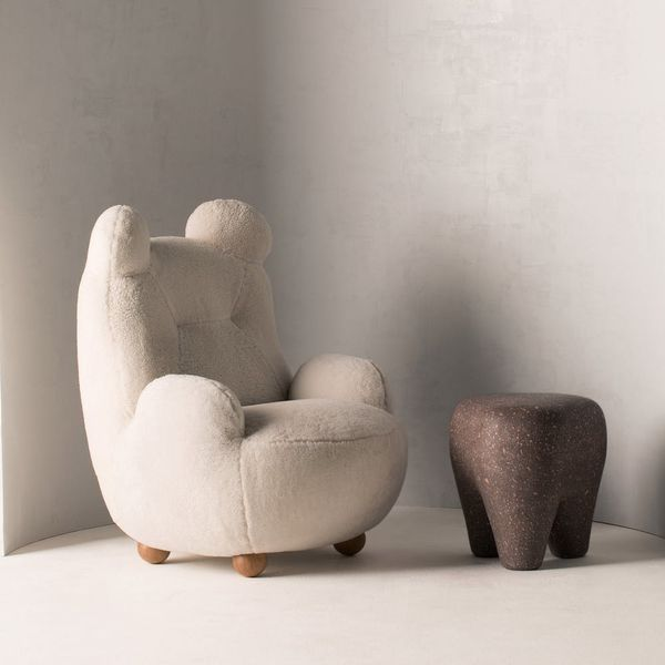 Teddy Bear Chairs Are Exactly What You NEED to Survive This Winter