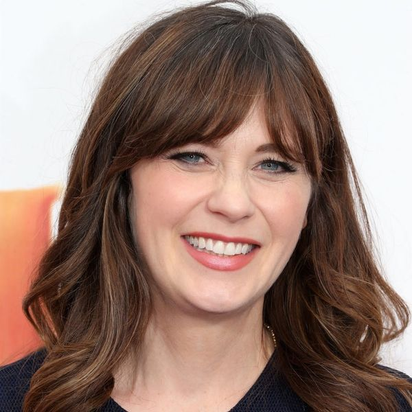 Zooey Deschanel Just Chopped Off Her Signature Locks and We're Totally Freaking