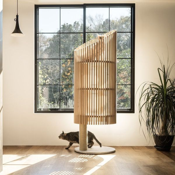 This Fancy Cat Tree Will Cost You $9,000