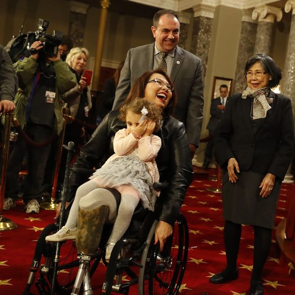 Tammy Duckworth's Pregnancy Points to the Lack of Young Women in Congress