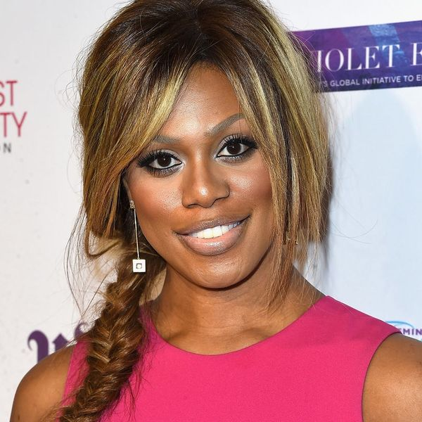 Laverne Cox Is the First Openly Transgender Cosmopolitan Cover Girl